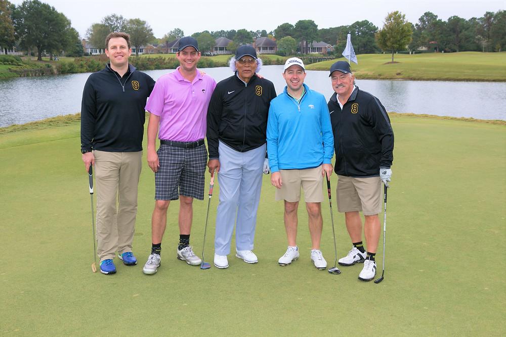 2017 Stargell Golf - Kyle Parker, Neil Wilkinson, Russ Rogers, Brian Wilder, Dr. Fry