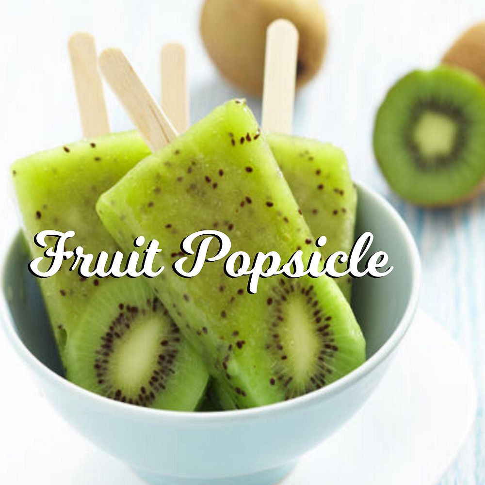 DIY Fruit Popsicle