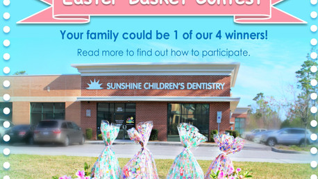Easter Basket CONTEST (& How to make your own Dental Friendly Baskets)
