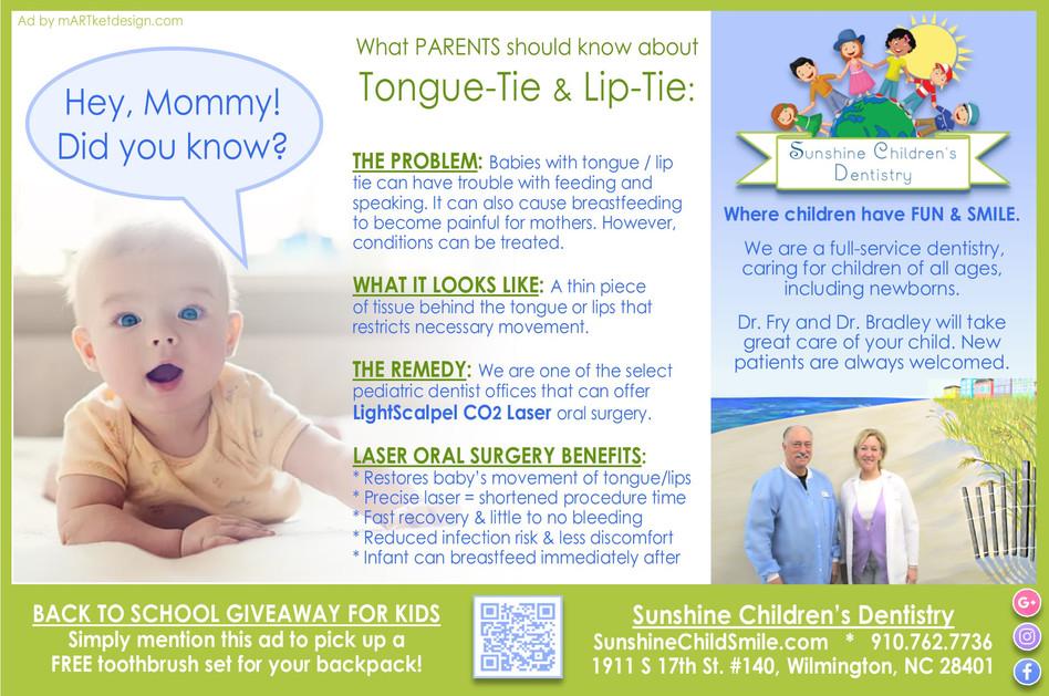 Tongue Tie & Lip Tie: What Parents Should Know about Laser Oral Surgery