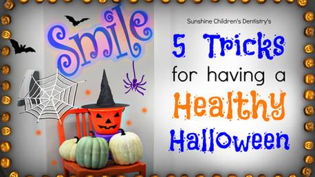 🎃5 Tricks for Having a Healthy Halloween