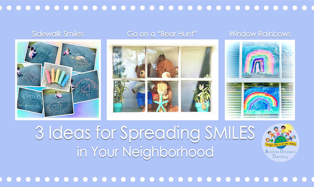 3 Ideas for Spreading SMILES in your Neighborhood