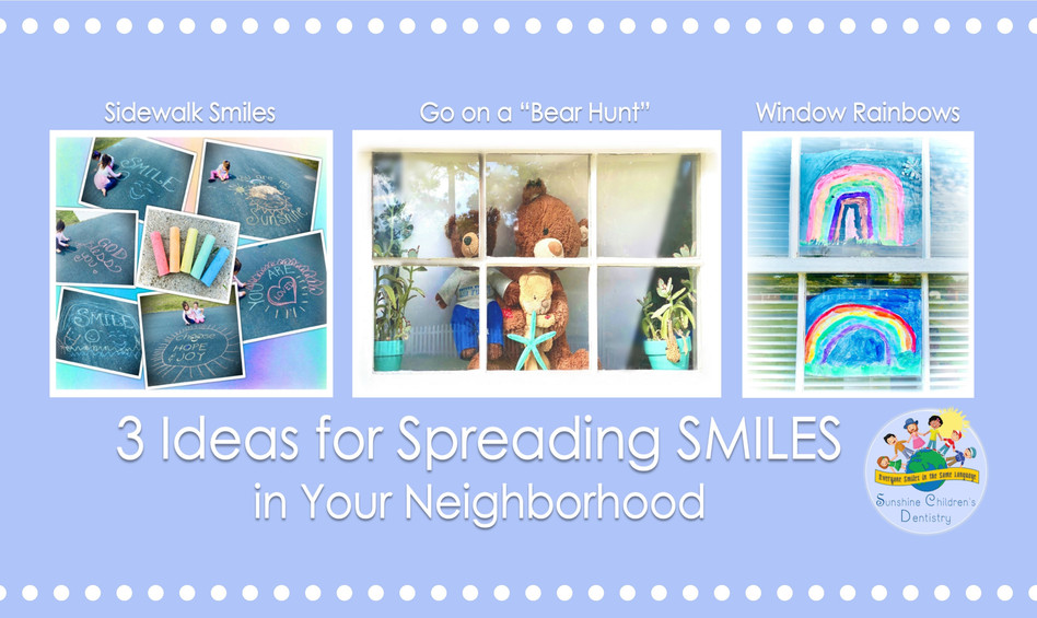 🌈 3 Ideas for Spreading SMILES in Your Neighborhood + Covid-19 Update