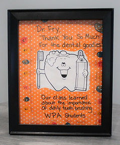 WPA Student Thank You Note