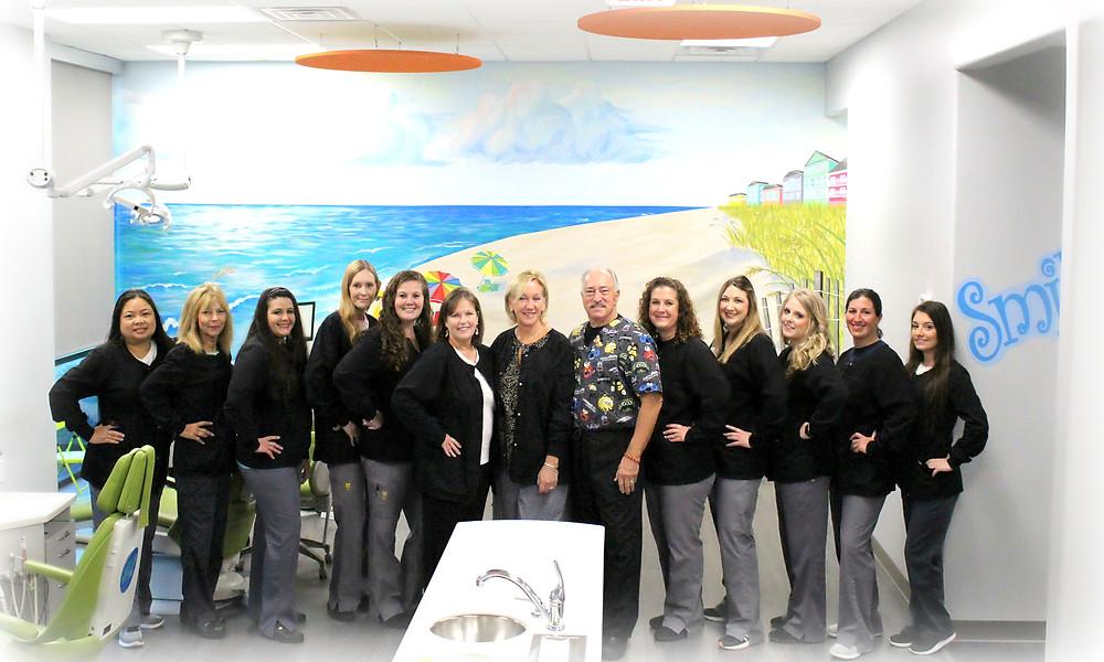 Sunshine Children's Dentistry staff