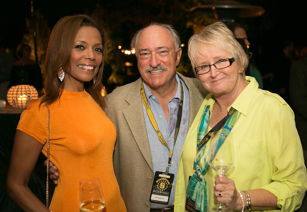 2017 Stargell - Margaret Stargell, Dr. Fry, Linda Fry