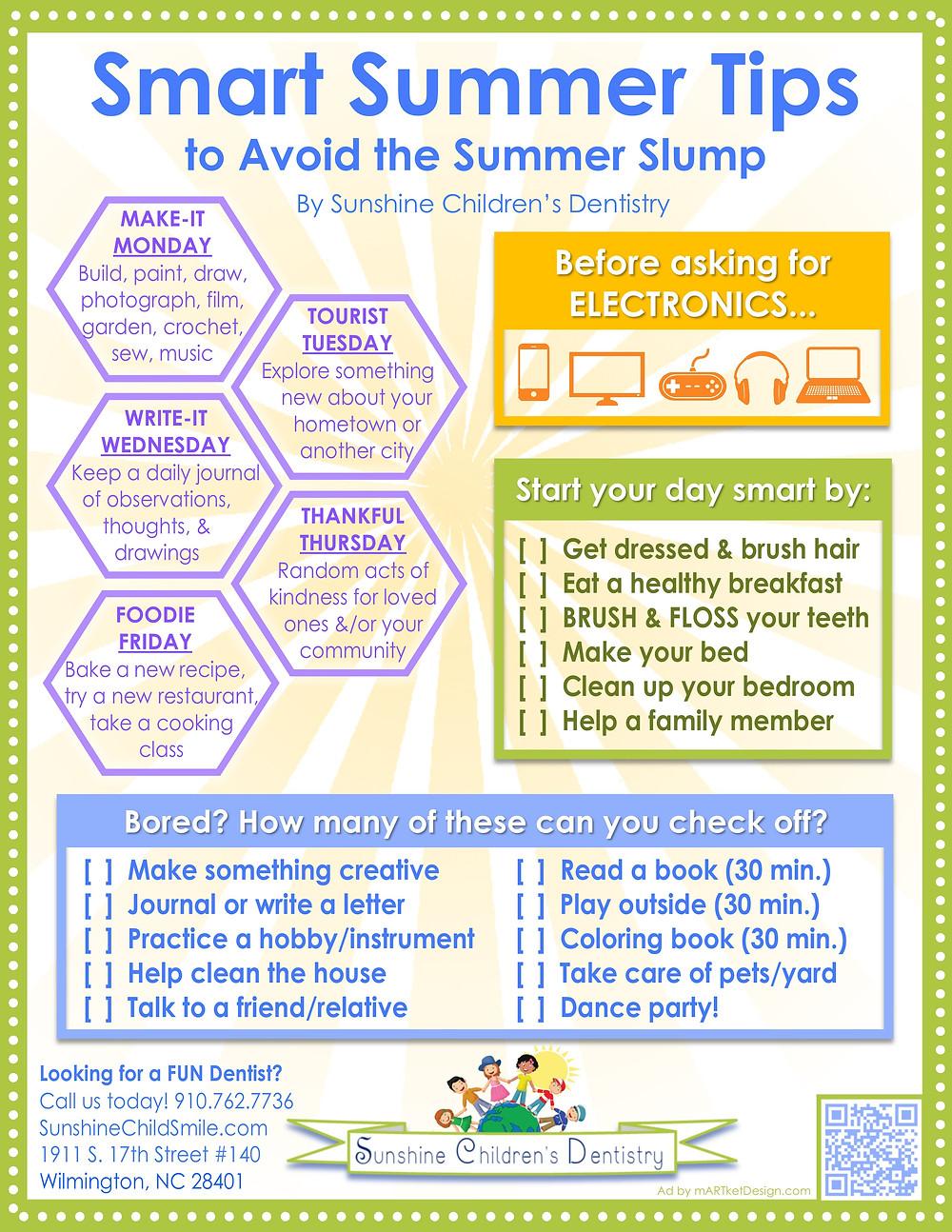 Smart Summer Tips to Avoid the Summer Slump