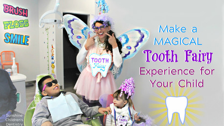 Making a Magical TOOTH FAIRY Experience for your Child