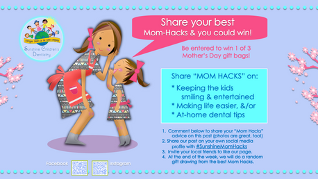 """🌺Share Your Best """"MOM HACKS"""" Contest🌺"""