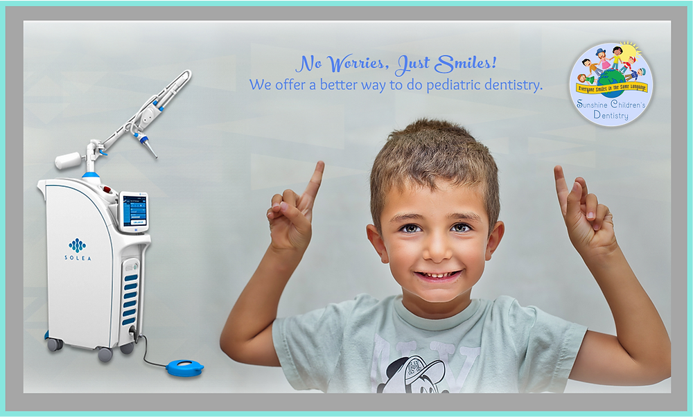 Pain-free Pediatric Dentistry with Solea Laser