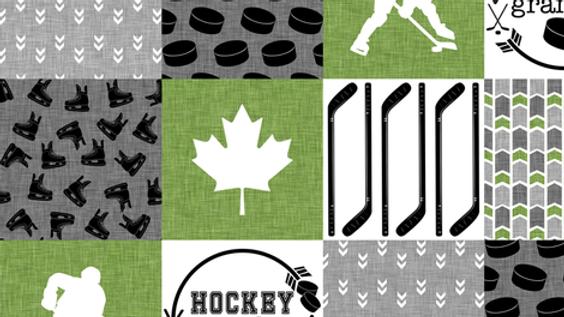 Hockey Grandpa | Green