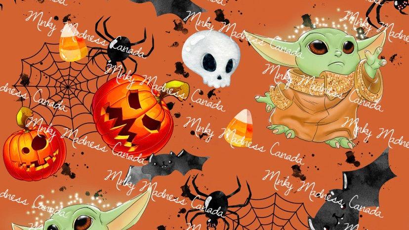 Pre-Order - Pumpkin, Candy & Yoda