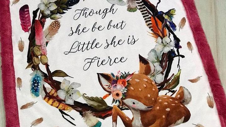 Pre-Order ~ Fierce Quote Deer