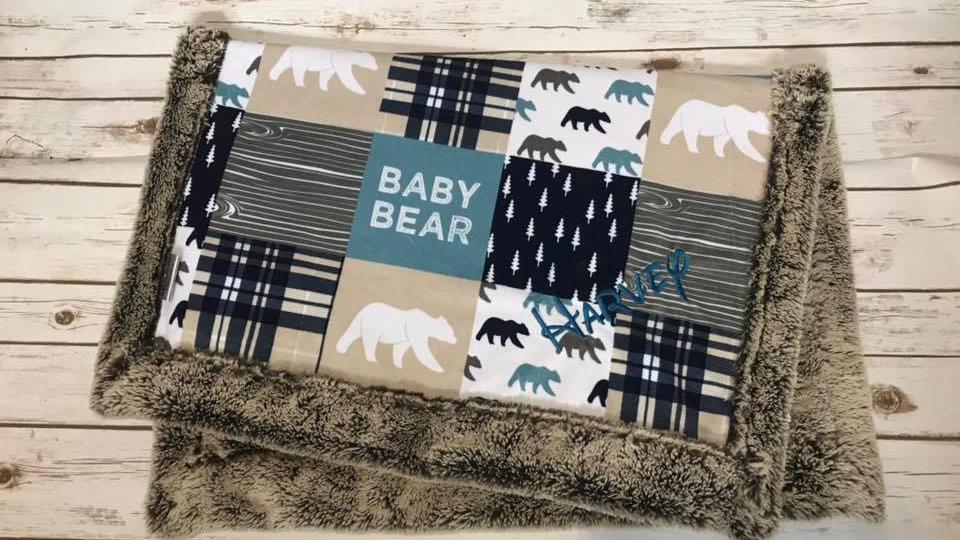 Baby Bear | Rustic Woodlands
