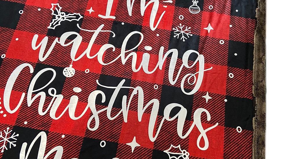 Pre-Order ~ Christmas Movies - Red Plaid