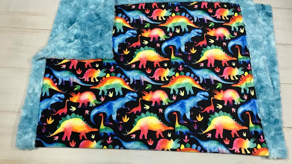 Rainbow Dinosaurs | Black