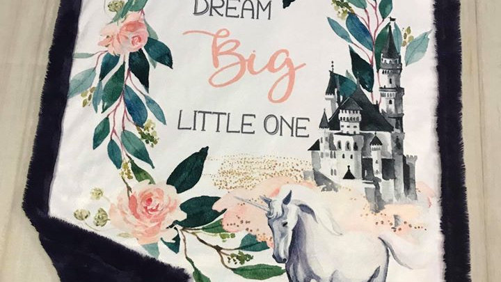 Dream Big Little One | Unicorn