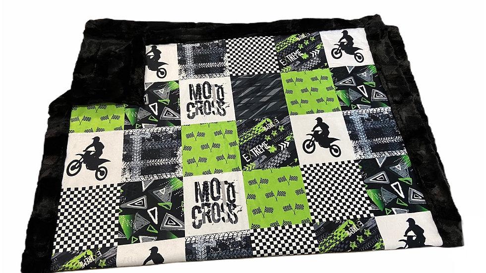 Moto Cross | Lime Green
