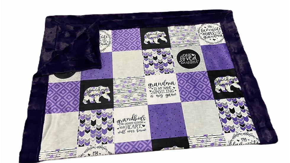 Pre-Order ~ Grandma Bear | Grape