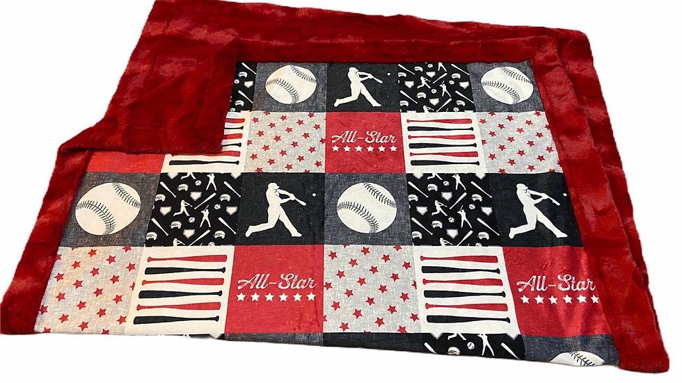 Pre-Order - All Star Baseball - Navy & Red
