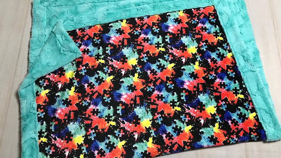 Pre-Order ~ Autism Awareness Watercolour Splatter