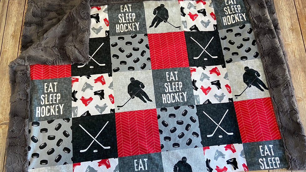 Eat Sleep Hockey | Red