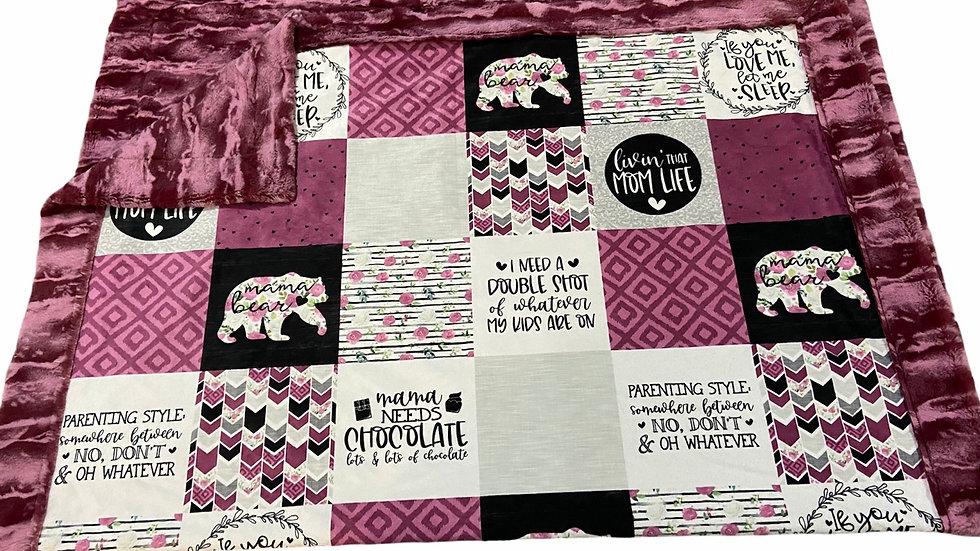 Pre-Order ~ Mama Bear | Chocolate | Merlot