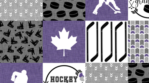 Pre-Order ~ Hockey Grandma | Purple