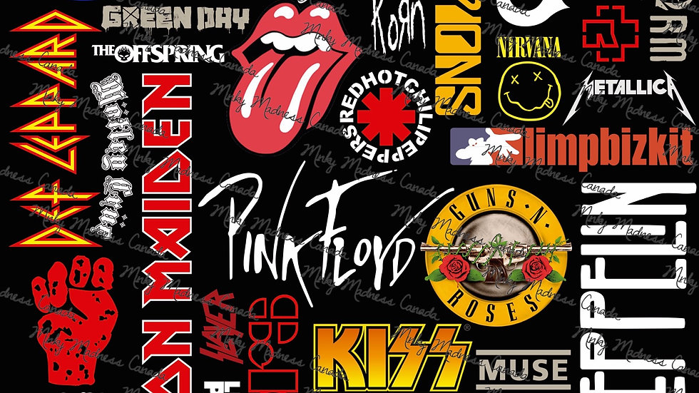 Pre-Order - Rock Bands