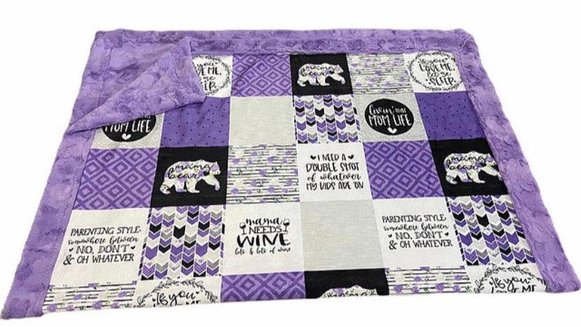 Pre-Order ~ Mama Bear   Wine   Grape Purple