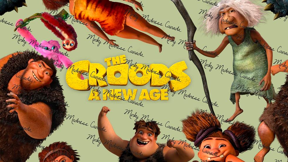 Pre-Order - Croods