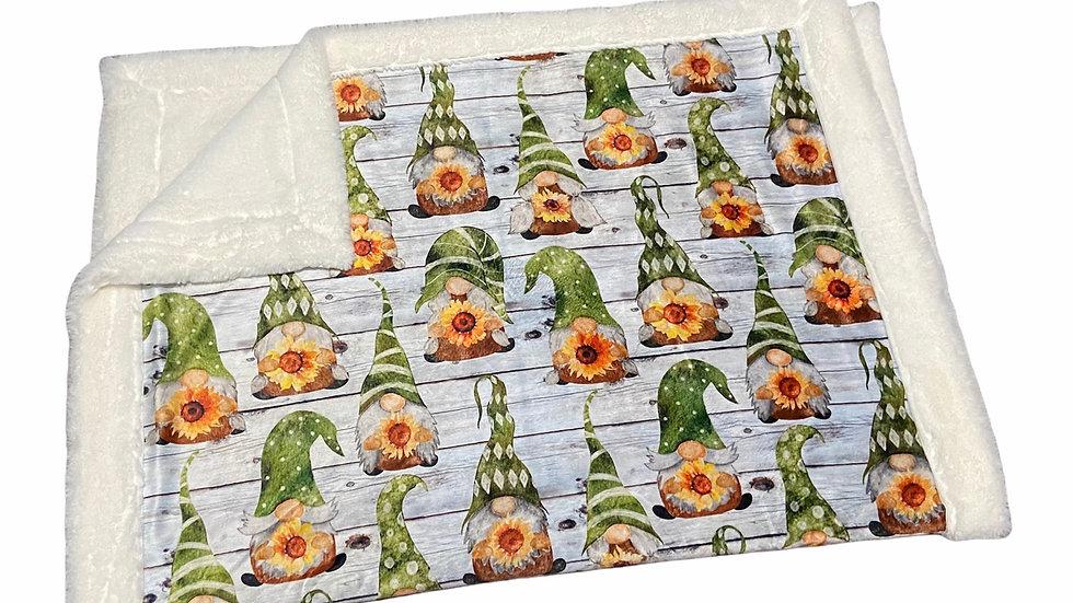 Pre-Order ~ Sunflower Gnomes on Shiplap