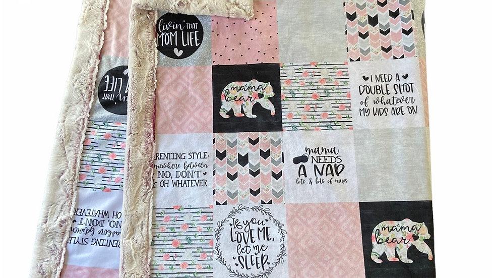 Pre-Order ~ Mama Bear   Nap   Pink