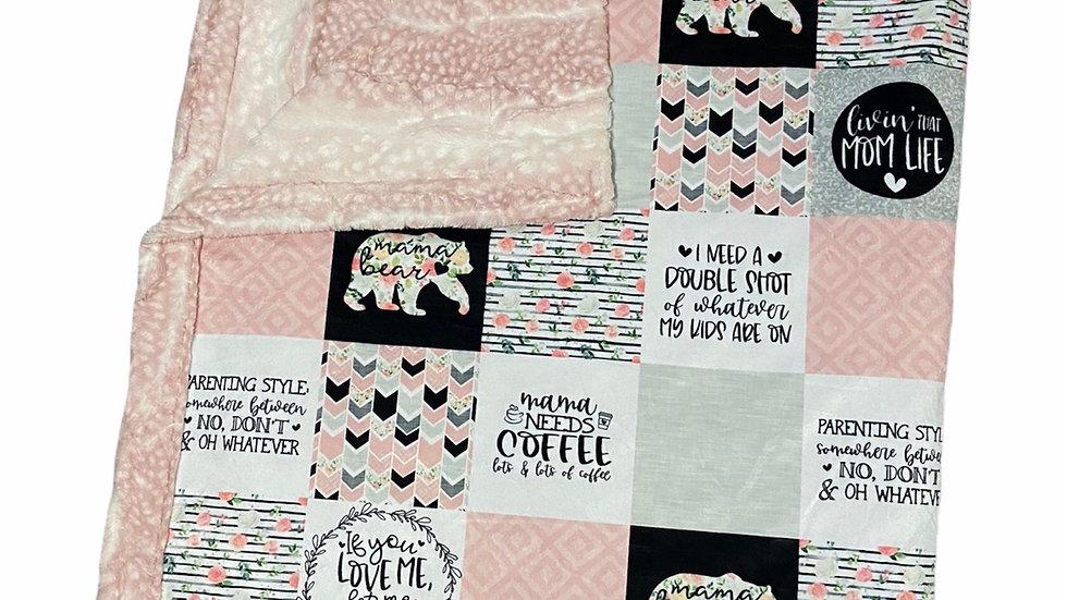 Pre-Order ~ Mama Bear | Coffee Pink