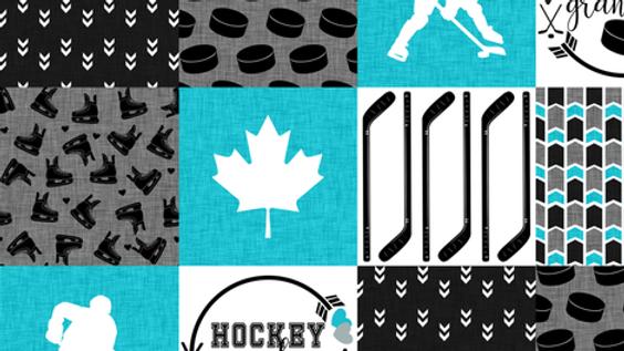 Pre-Order ~ Hockey Grandma | Turquoise