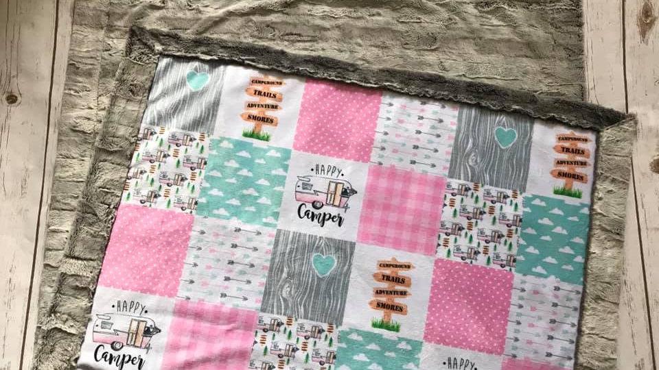 Pre-Order ~ Happy Camper   Pink