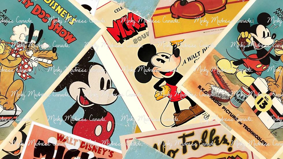 Pre-Order - Vintage Mickey