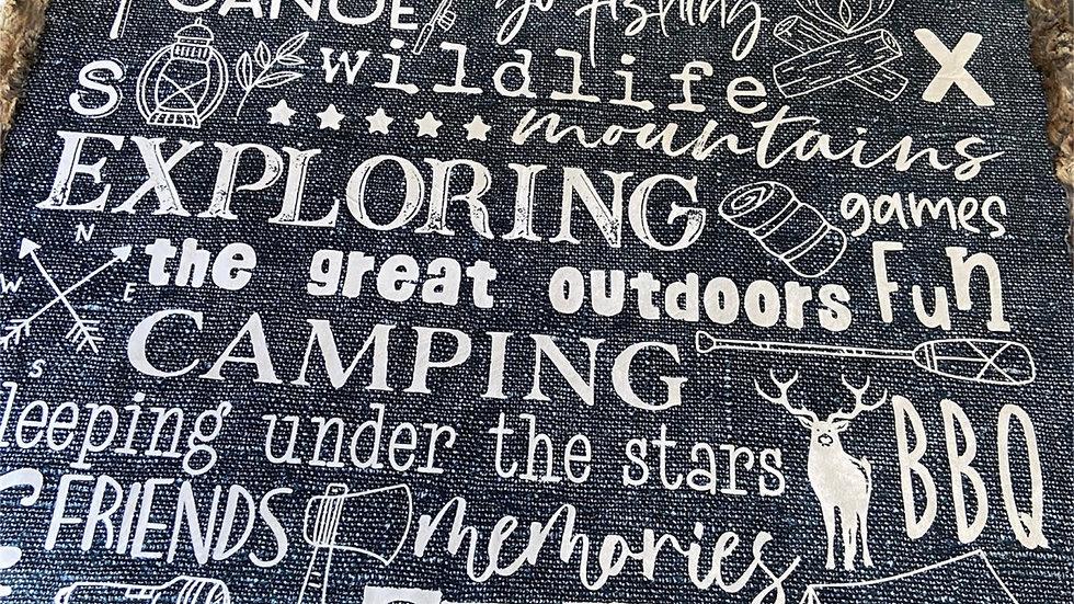 Pre-Order ~ Camping Subway Art