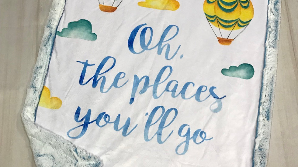 RTS Oh The Places You'll Go Baby/Toddler - Maui Hide Frost