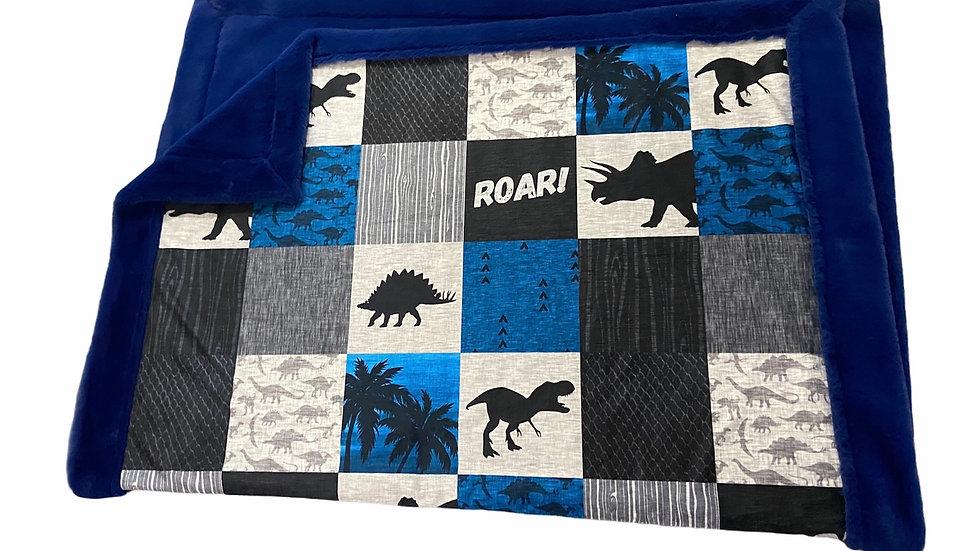 Pre Order - Rawr Dinosaur - Blue