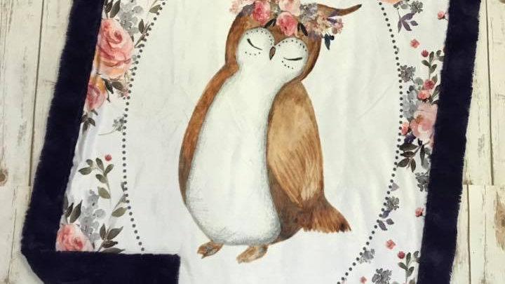 Pre-Order ~ Floral Owl & Bouquet