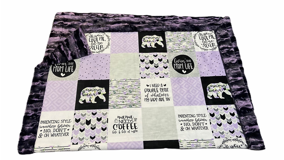 Pre-Order ~ Mama Bear | Coffee Purple