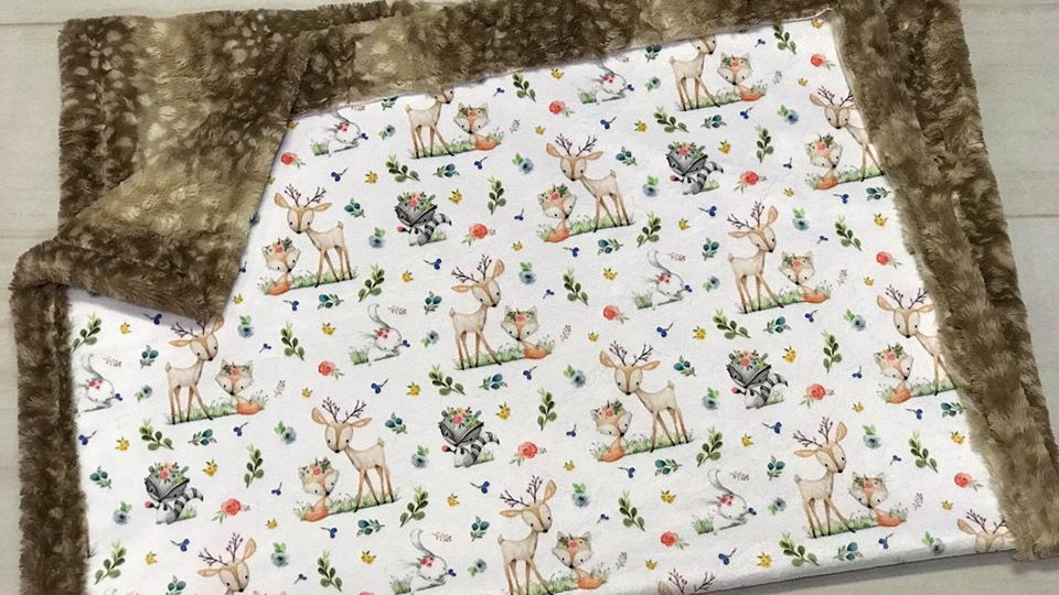 Pre-Order ~ Woodland Friends | Deer Fox Racoon Bunny
