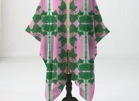 Elegant Ivy Kimono