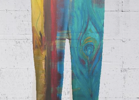 Plume Yoga Capri Pants