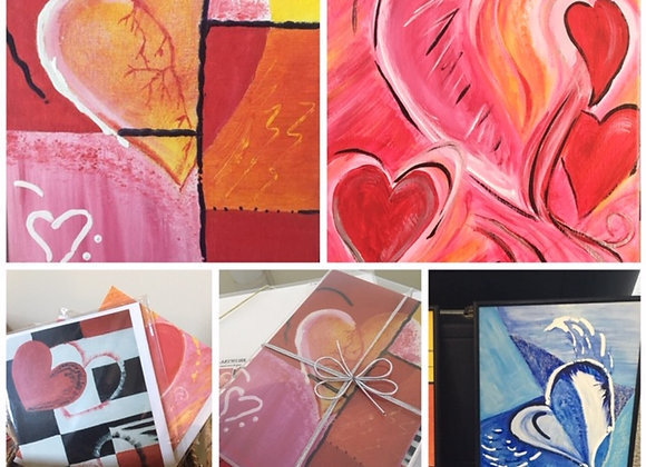 Valentine Original Canvas Paintings
