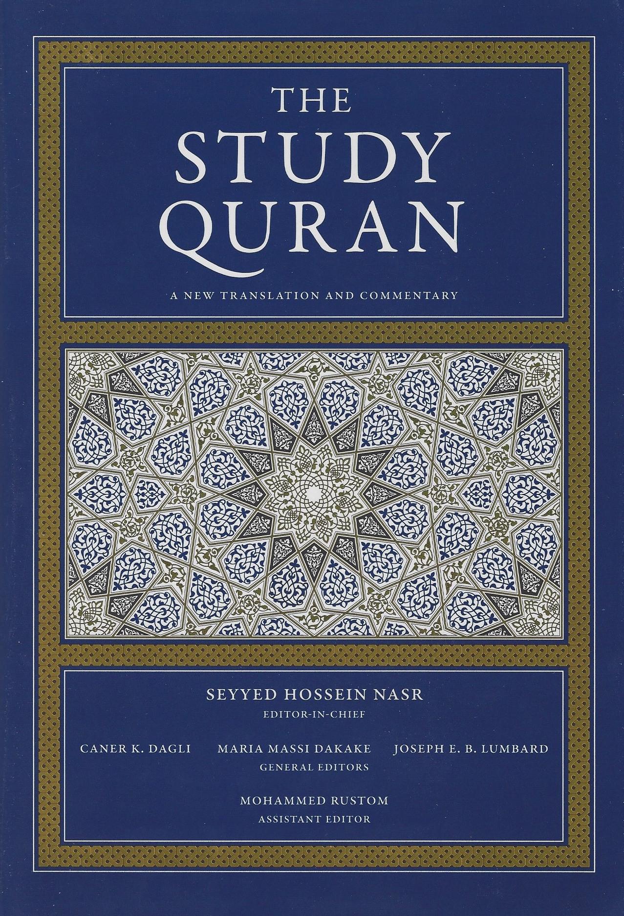 The Study Quran: A New Translation a