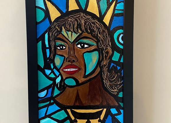 SHE Reigns  Original Painting
