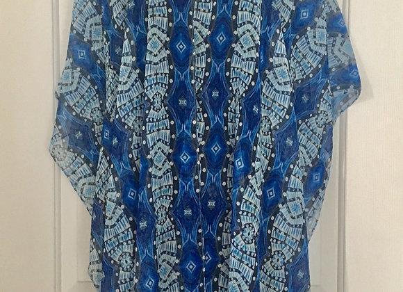 Regal Blue Kimono