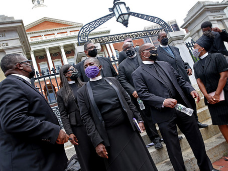 Black pastors call on lawmakers to seize 'political moment' and pass police reform